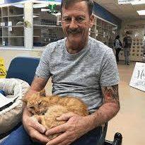 Gato reencontrou o dono após mais de dez anos longe de casa