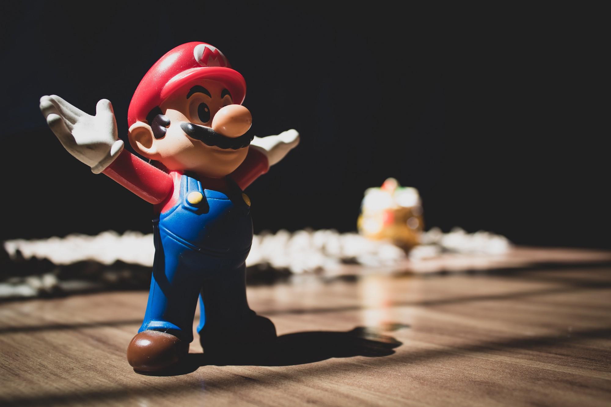 Jogar Super Mario traz benefícios ao cérebro