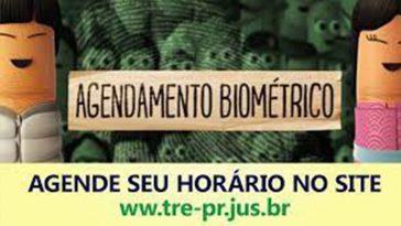 Agendamento para biometria do título de eleitor