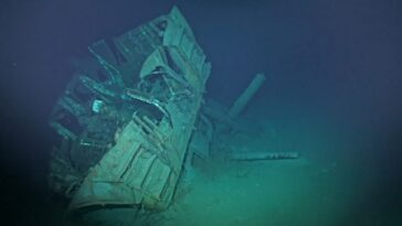 O naufrágio mais profundo já encontrado