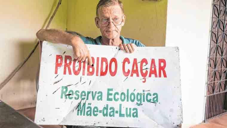 Ambientalista alemão é ameaçado por proibir caça em reserva animal do Ceará