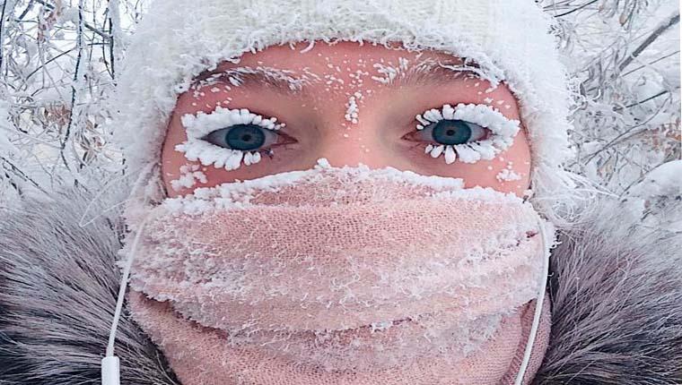 As cidades mais frias do mundo