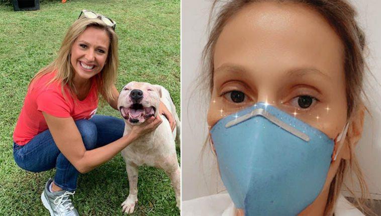 Luisa Mell foi diagnosticada com coronavírus