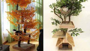 Torres para gatinhos são como árvores dentro de casa – incríveis fotos
