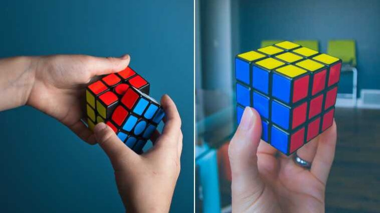 como montar o cubo mágico fácil