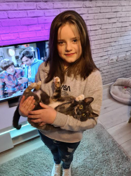 Garota do TikTok teve vídeo arruinado gato