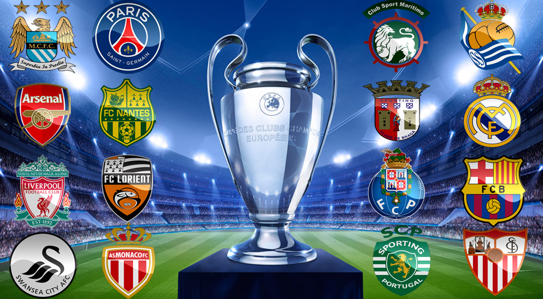 clubes da liga dos campeões
