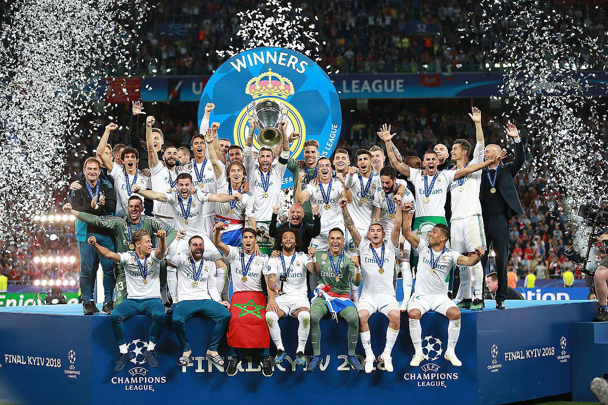 maior campeão da Champions League