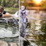Fotógrafo usa brinquedos e criatividade
