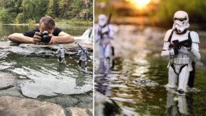 Fotógrafo usa brinquedos e criatividade para criar fotos incríveis