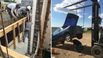 piores exemplos de segurança no trabalho