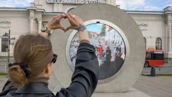Lituânia e Polônia construíram um portal