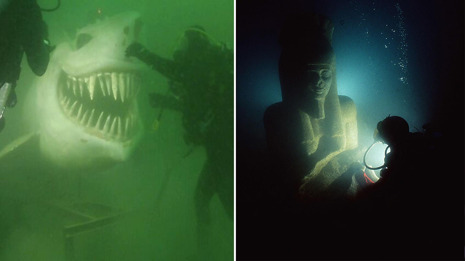Medo de objetos submersos: grupo compartilha imagens assustadoras