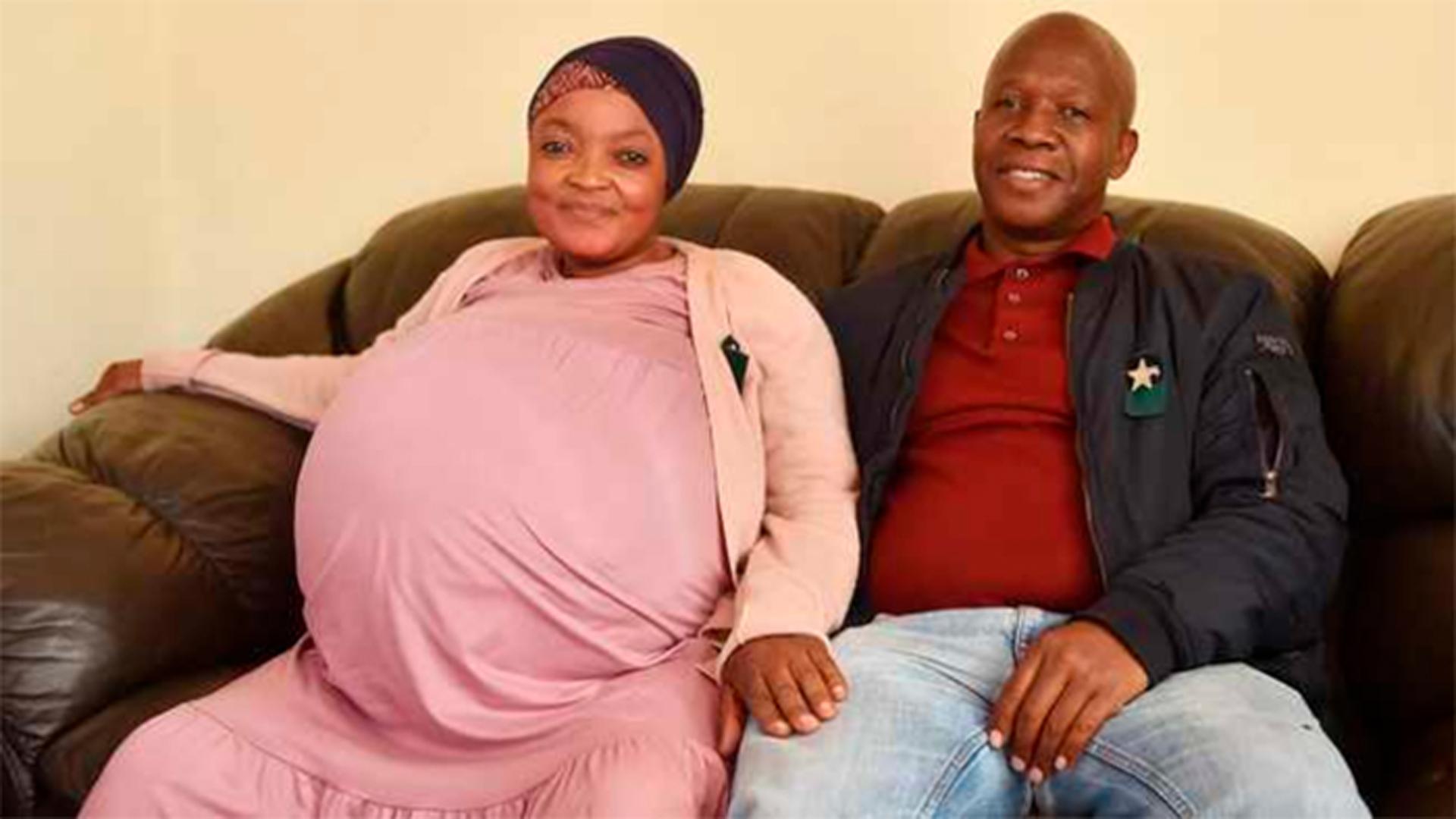 Mulher dá à luz 10 bebês na África do Sul e médicos ficam surpresos