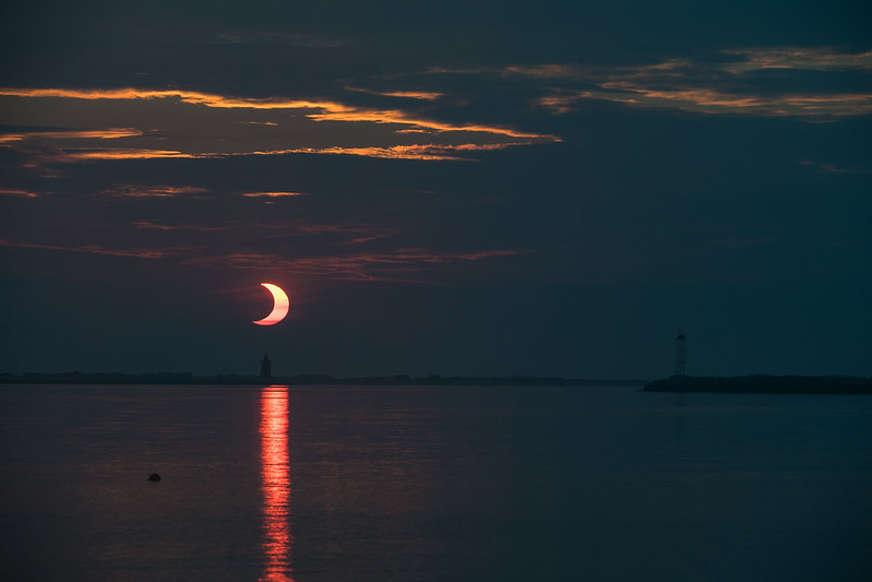 Nasa divulgou fotos e vídeo do eclipse solar anel de fogo ocorrido na quinta-feira