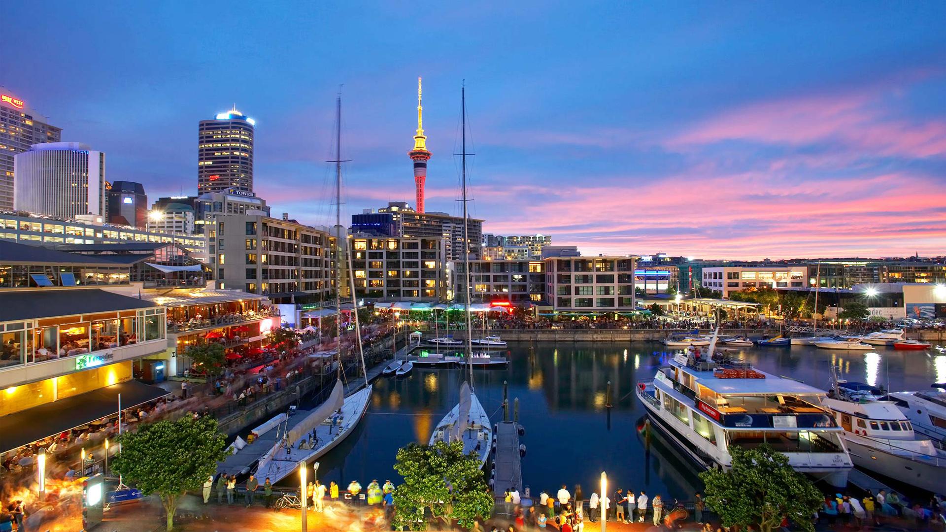 as melhores cidades para se viver Auckland