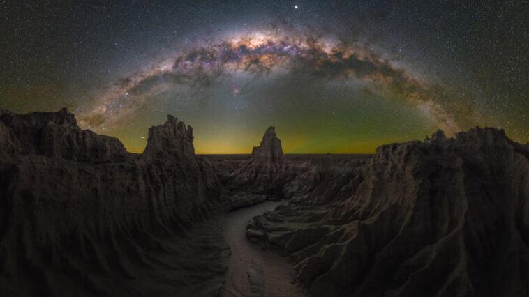 as melhores fotos da Via Láctea
