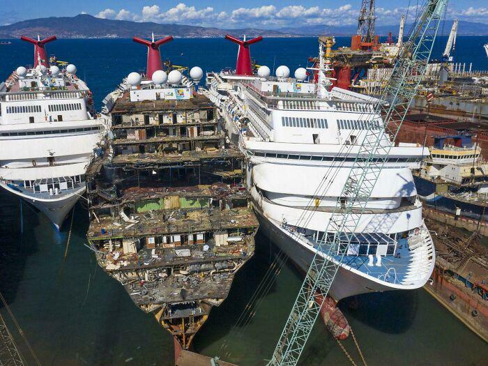 navios sucateados