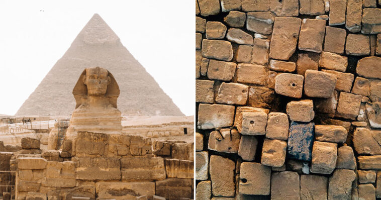 topo da Grande Pirâmide de Gizé