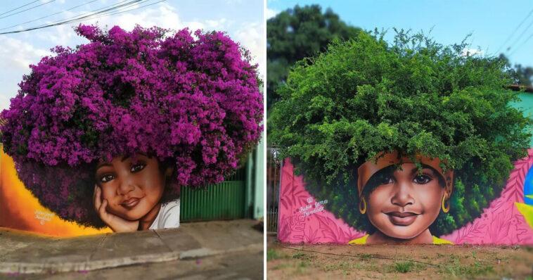 Artista brasileiro arte nos muros