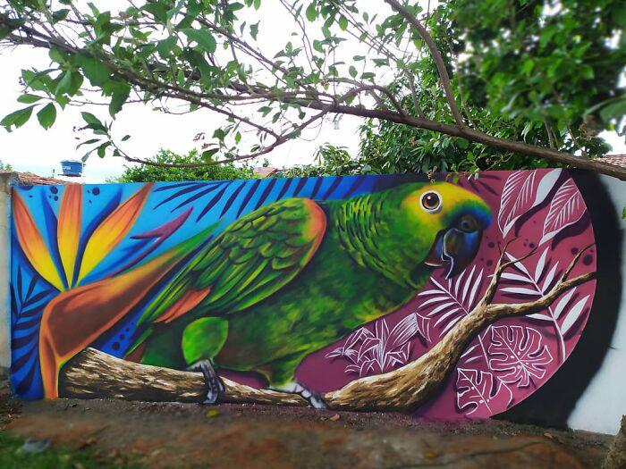 Artista brasileiro viraliza
