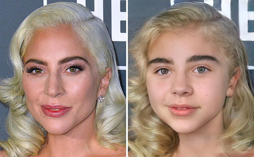 Inteligência Artificial transforma Lady Gaga